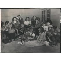 1946 Press Photo Radio School Coal Shortage Denver - RRS17427