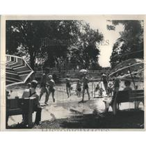 1935 Press Photo Olympic-size swimming poolA pool can b - RRS75925