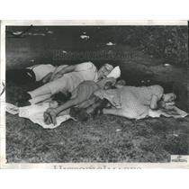 1936 Press Photo Summer Four Season Night Autumn Spring - RRS27839