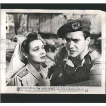1950 Press Photo Hasty Heart Patricia Neal Richard Todd - RRS89589