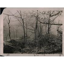 1920 Press Photo Edge of the Palisades with the Hudson