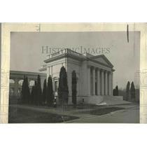 1920 Press Photo Entrance Arlington Amphitheater Memorial Washington D.C.