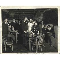 1921 Press Photo Real Bohemian Wedding at Netter 'Ole Alley in Washington, D.C.