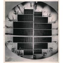 1950 Press Photo Moffett Field, Calif subsonic flight lab for tests