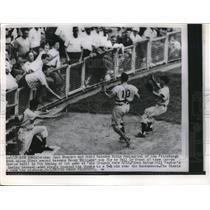 1954 Press Photo Pittsburgh Pirates Jack Shepard & Eddie Pellagrini