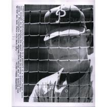 1956 Press Photo Mayo Smith Manager MLB Philadelphia Phillies Baseball Team