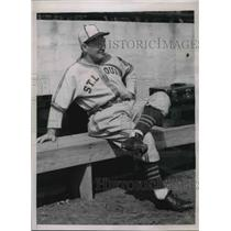 1941 Press Photo Fred Haney Manager St. Louis browns - nes02492