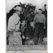 1947 Press Photo Mickey Owen Brooklyn Dodgers - nes02767