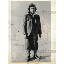 1931 Press Photo Madrid, Spain, Antonio Romer Noriega, pilot of plane