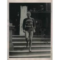 "1922 Press Photo Sam Johnson""Human Locomotive""run 200 miles in 30 Hours."