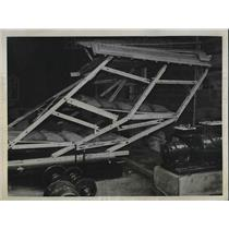 1938 Press Photo Earthquake damage in Toyko, Japan