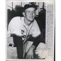 1951 Press Photo Don Herman, University of Southern California right-fielder and