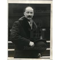 1927 Press Photo Archduke Leopold of SAustria arriving in NYC - neb48524