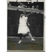 1928 Press Photo Former Woman's Singles Champion Molla Mallory - nes04398