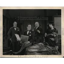 """1923 Press Photo Scene from Theater Play """"Success"""" from Metro Pictures."""