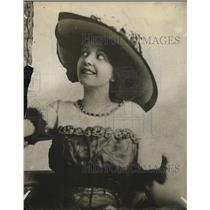 1918 Press Photo Miss Blossom Harris