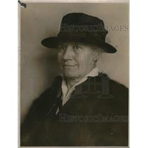 1924 Press Photo Mrs. Nell Thayer, Best Patriot in America, Mariposa County