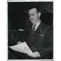 1940 Press Photo Commissioner Everett Sanders