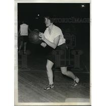 1929 Press Photo NYC, Margaret Shea at basketball for Hunter College