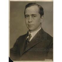 1919 Press Photo Baasil M.Manly for War Labor Board