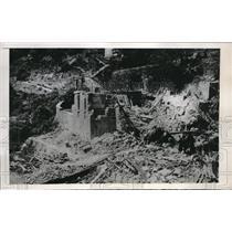 1948 Press Photo Verrola, Greege, communist raids blew up power plant