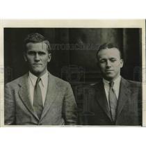 1932 Press Photo H. Bradford Washburn, Jr., Pres. Harvard Mountain Engineering