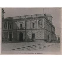 1922 Press Photo Post Office building at Guatemala City