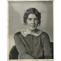 1929 Press Photo Annabelle Jackson, pianist and hostess on WTAM