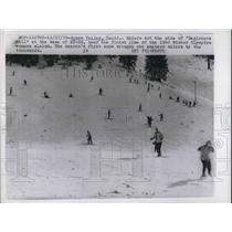 1959 Press Photo Winter Olympic Women's Slalom, Squaw Valley, California