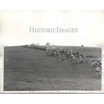 1937 Press Photo Bloody Battle of Antietam being reenacted