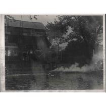1938 Press Photo Flooded Gunhill Road & White Plains Ave, NY - neb90696