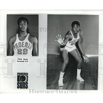 Press Photo Phoenix Suns Basketball Forward Paul Silas - nes06336