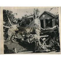 1928 Press Photo Tornado Damage 50 Miles from Denver Colorado