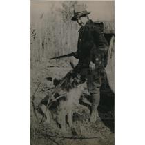 1921 Press Photo Wilma Gilman, Forest Ranger