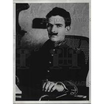 1927 Press Photo Gen. J.M. Ferreira
