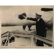 1916 Press Photo Admiral Tyrwhitt hero of Zeerrugge Raid