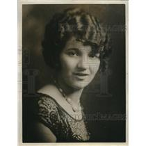1927 Press Photo Miss California 1923 Dorothy Dean Now A Model