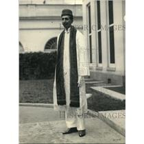 1923 Press Photo Mr Marpan AJ Noble of Bombay India A Merchant