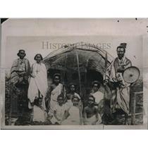 1924 Press Photo Samoalis are victims of various raiders.