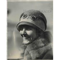 1927 Press Photo Mrs. Chester Cottneel Wife of Pilot