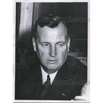 1956 Press Photo Mundy I Peale Pres of the Institute of Aeronautical Sciences