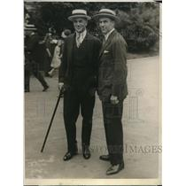 1924 Press Photo Col. LL Stoddard, to be capt. of US polo team at Meadowbrook