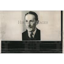 1959 Press Photo Portrait Of Czech Chemist Jaroslav Heyrovsky Nobel Prize Winner