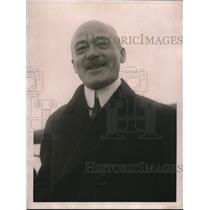 1922 Press Photo German Consul General Karl Lang in New York