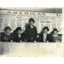1924 Press Photo Prominent Leaders Of Girl Scout Movement At Roosevelt Hotel NYC