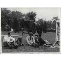 1938 Press Photo Chilean Army Tean, Hernan Vigil, Eduardo Yanez, Pelayo Izureta