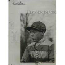 1924 Press Photo Charley Smith, Jockey in England
