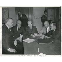 1939 Press Photo Meeting Of California State Board Of Prison Directors