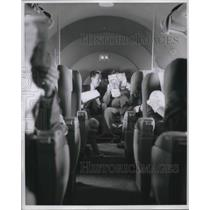 1961 Press Photo Delta Airlines