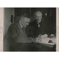 1921 Press Photo Elliott Vood Architect of the Capitol